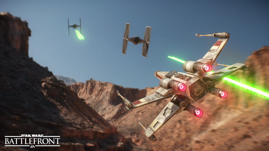 Star Wars Battlefront Drop Zone
