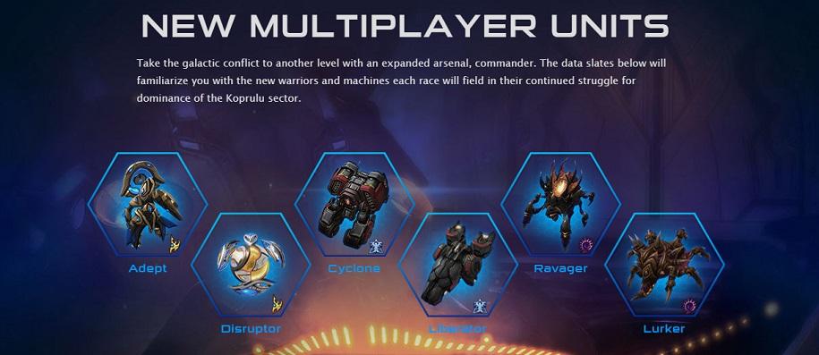 new lotv units 2